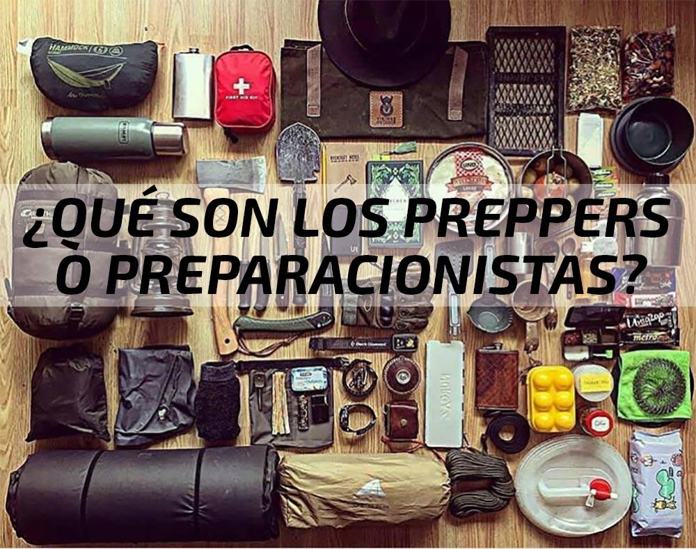 ¿Qué son los Preppers o Preparacionistas? Supervivencia