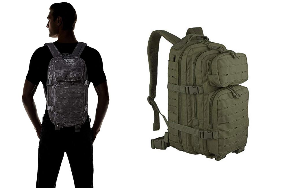 MOCHILA SUPERVIVENCIA MIL-TEC ASSAULT LASER CUT
